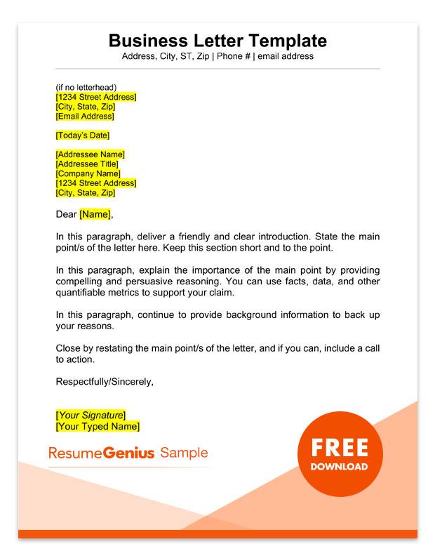 Business Letter Letterhead Romes