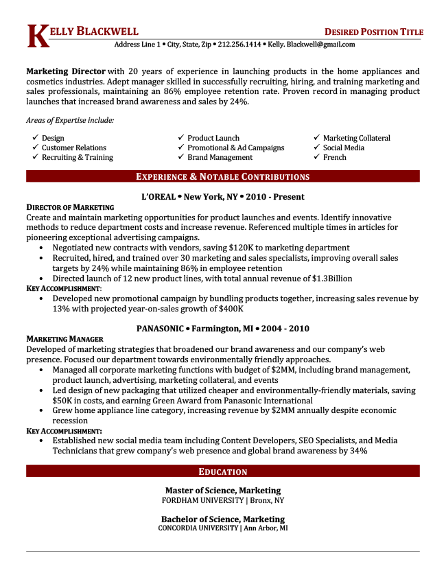 resumes for job hoppers examples