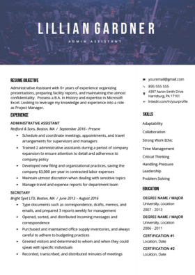 Stylish Resume Templates Free Download
