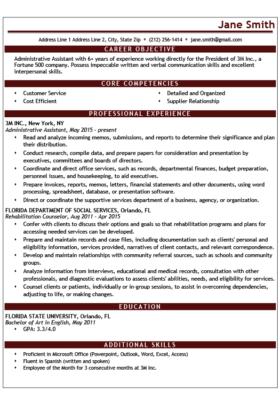 Resume Templates Word Microsoft