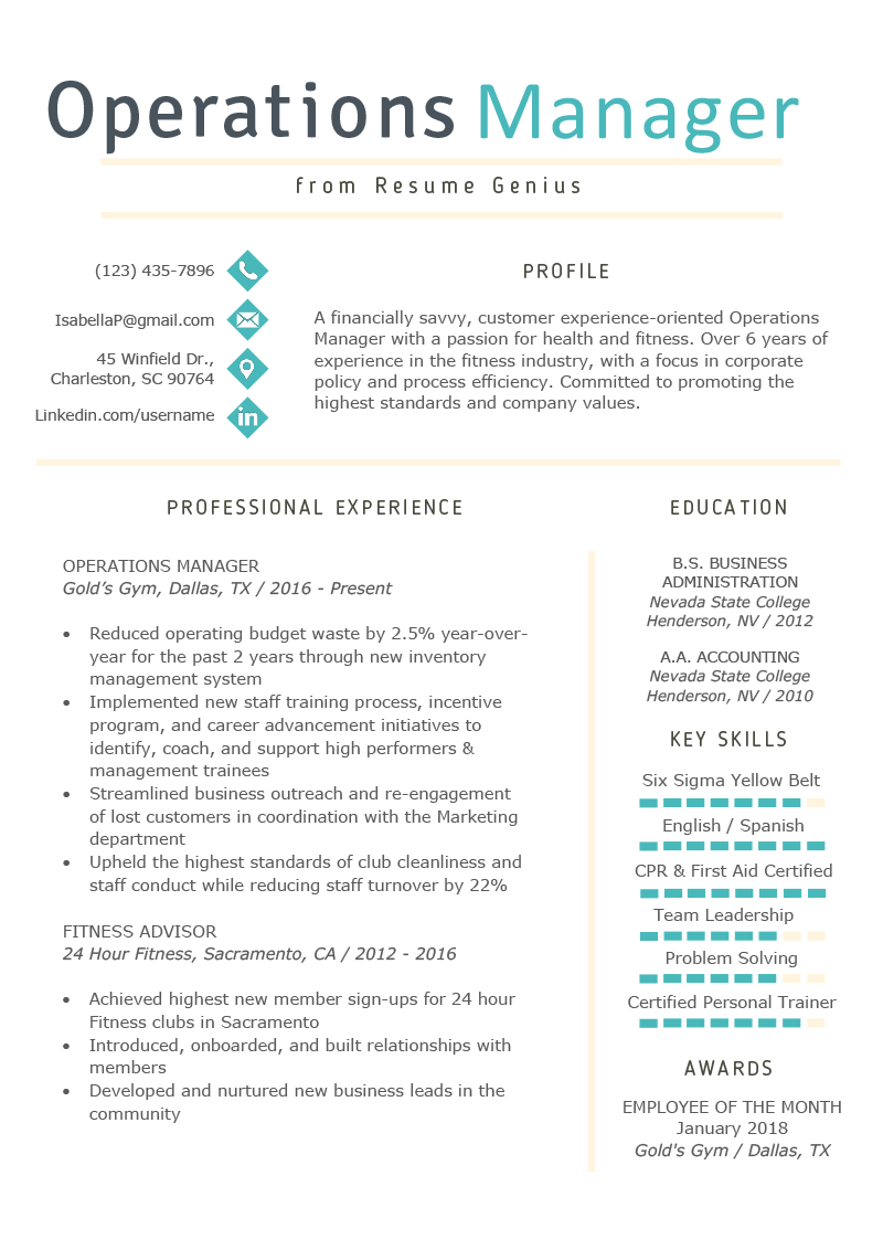 resume summary examples client service