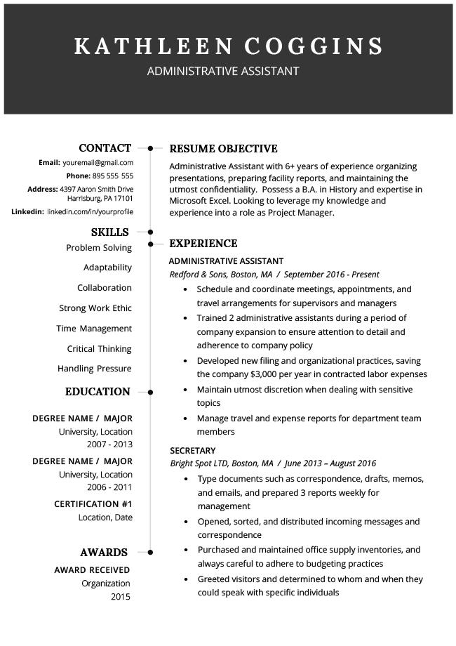 free word resume template 2019 teacher