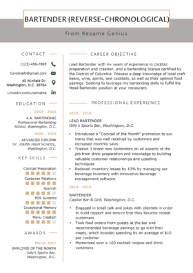 Resume Format Mega Guide How To Choose The Best Type For