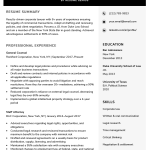Lawyer Resume Sample Writing Tips Resume Genius