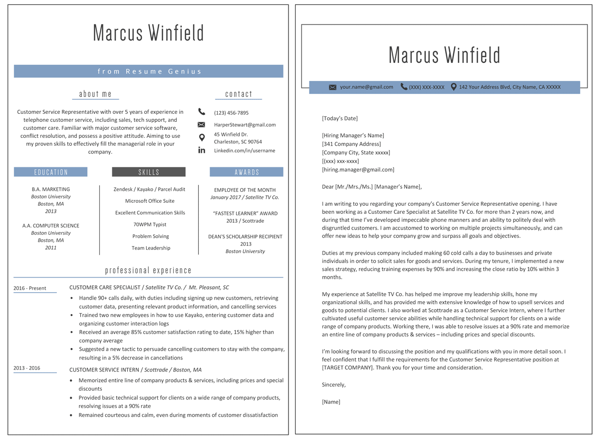 What Is A Cover Letter On A Resume