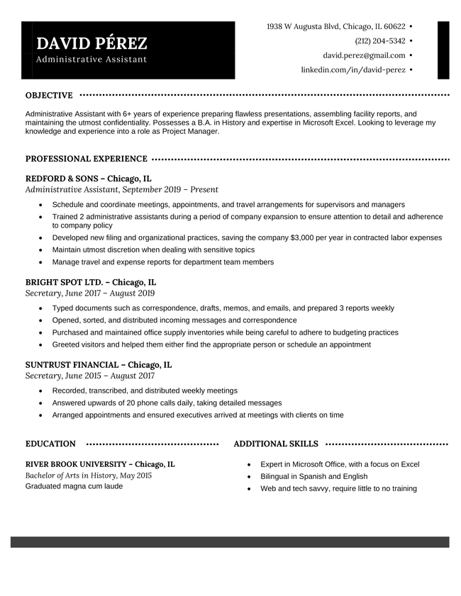 Step 2) next, start studying other job descriptions and use keywords in your resume. Professional Resume Templates Free Download Resume Genius