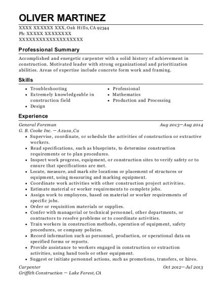 ken coleman resume help