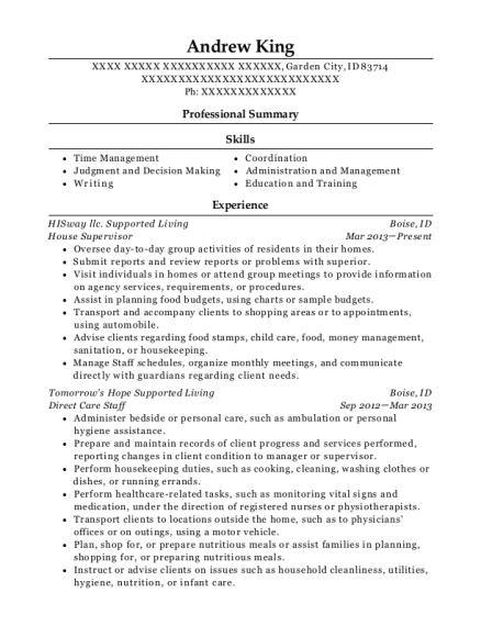 resume for skin care consultant