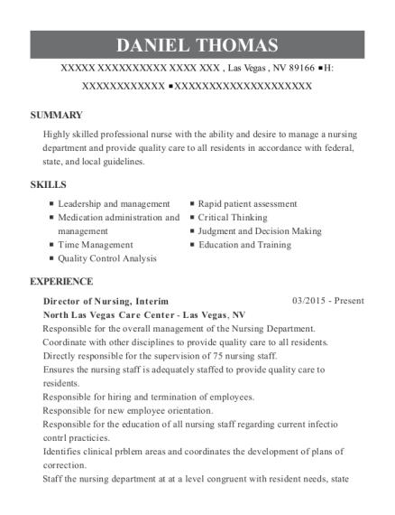 sample adon resume