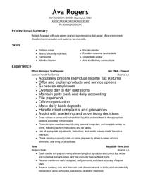Jackson Hewitt Tax Service Office Manager/ Tax Preparer ...