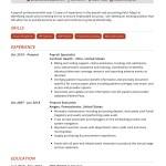 Payroll Specialist Resume Example Cv Sample 2020 Resumekraft