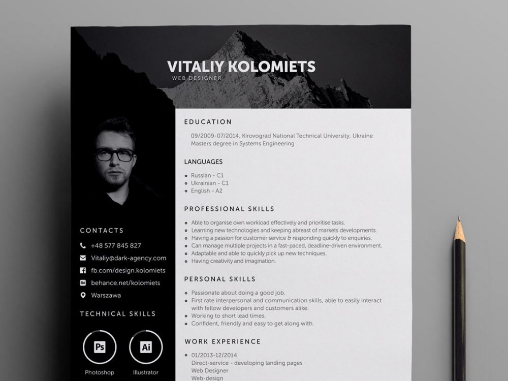 Product and service reviews are conducted independently by our editorial team, but we. Professional Resume Template For Web Designers Resumekraft