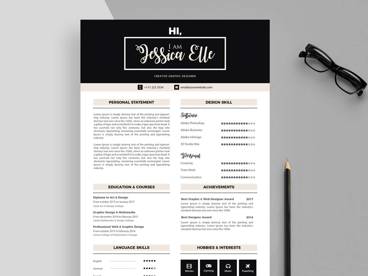 Choose from hundreds of template options. Editable Cv Templates Free Download Resumekraft