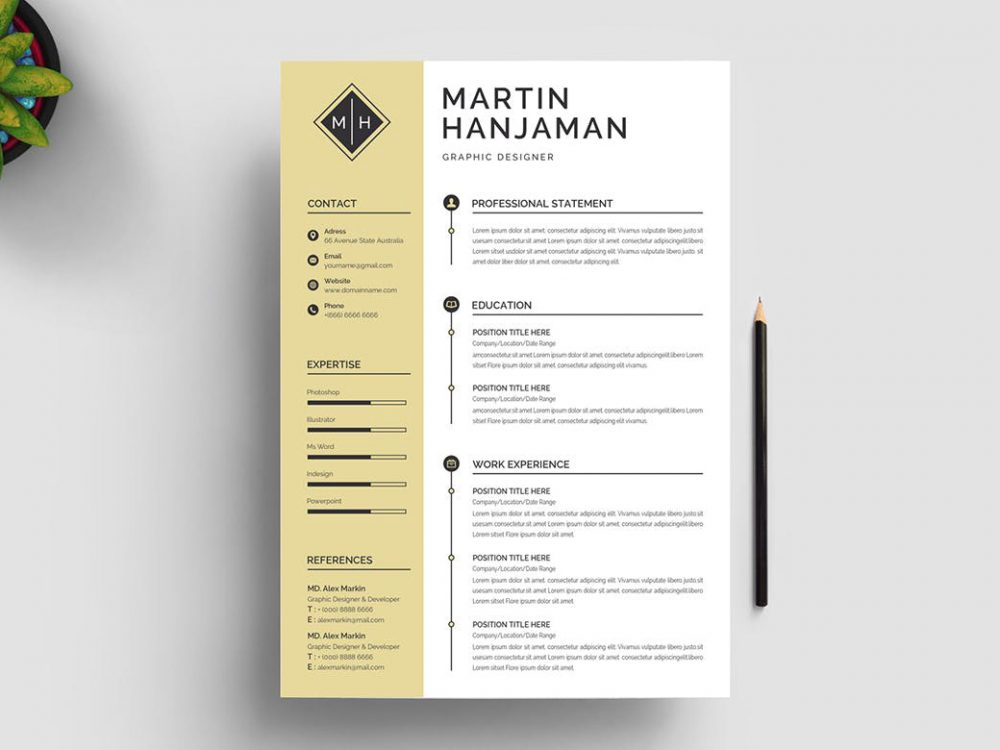 Jobscan's free microsoft word compatible resume templates feature sleek, minimalist designs and are formatted for the applicant tracking systems that virtually all major companies use. Word Resume Template Free Download Resumekraft