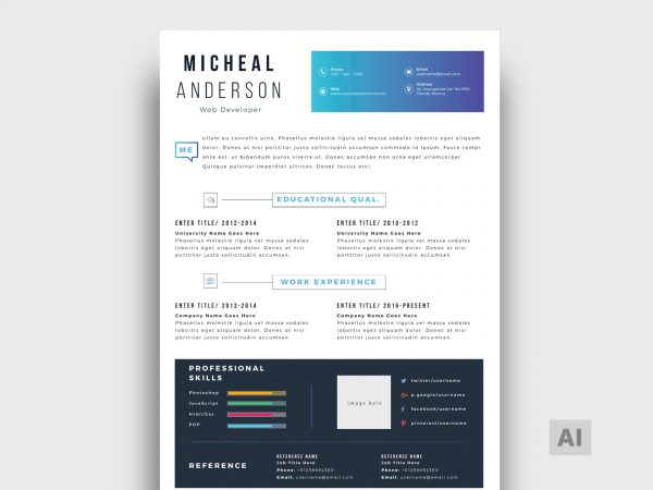 Administrative assistant resume templates free to download an administrative assistant is an office worker that handles many clerical tasks commonly associated with working in an office. Free Resume Templates In Illustrator Format 2021 Resumekraft