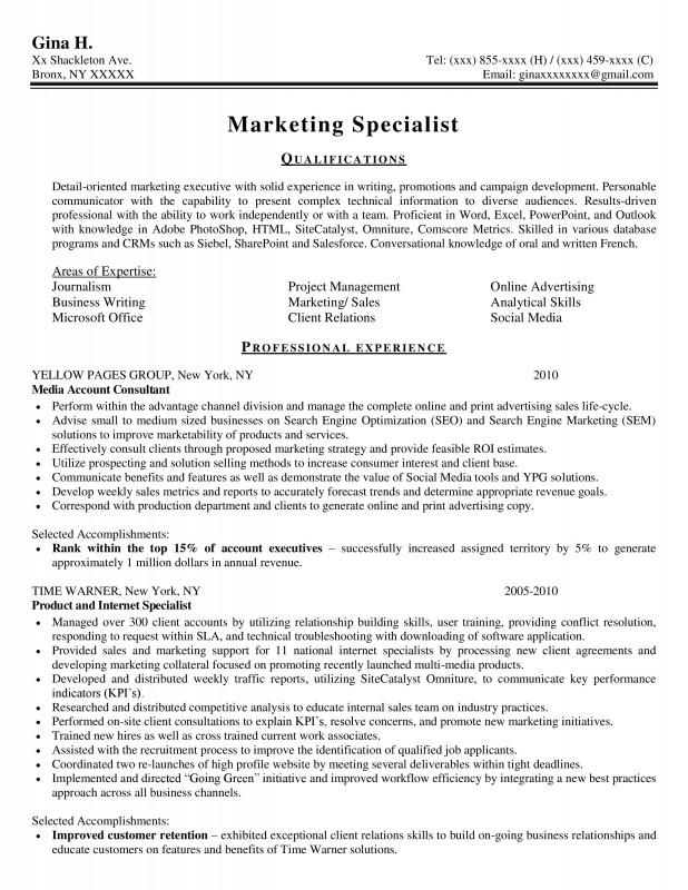 Samples New York Resume Writing Service ResumeNewYork Com