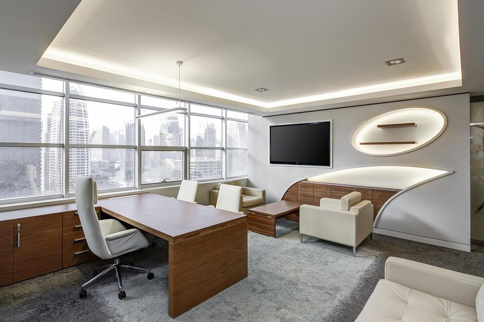 modern executive office