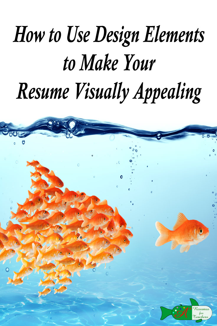How To Use Design Elements To Make Your Resume Visually