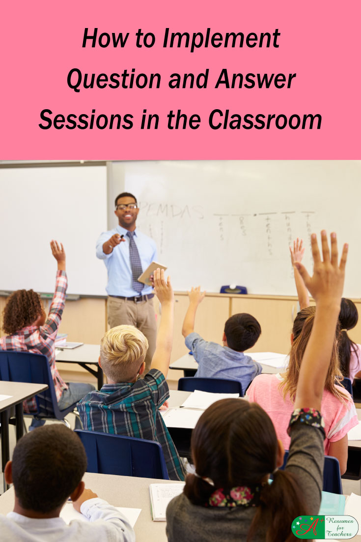 How To Implement Question And Answer Sessions