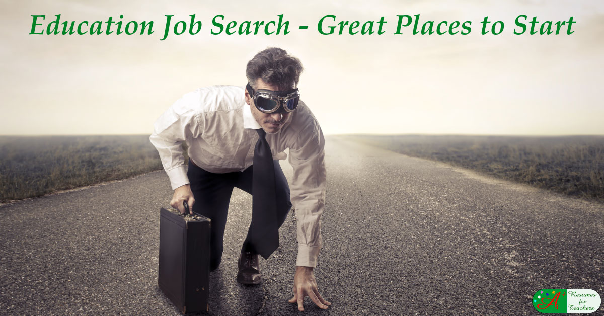 Education Job Search Great Places And Websites To Start
