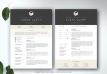 Resume Templates & Design : Modern Catalogue / Brochure Template ...