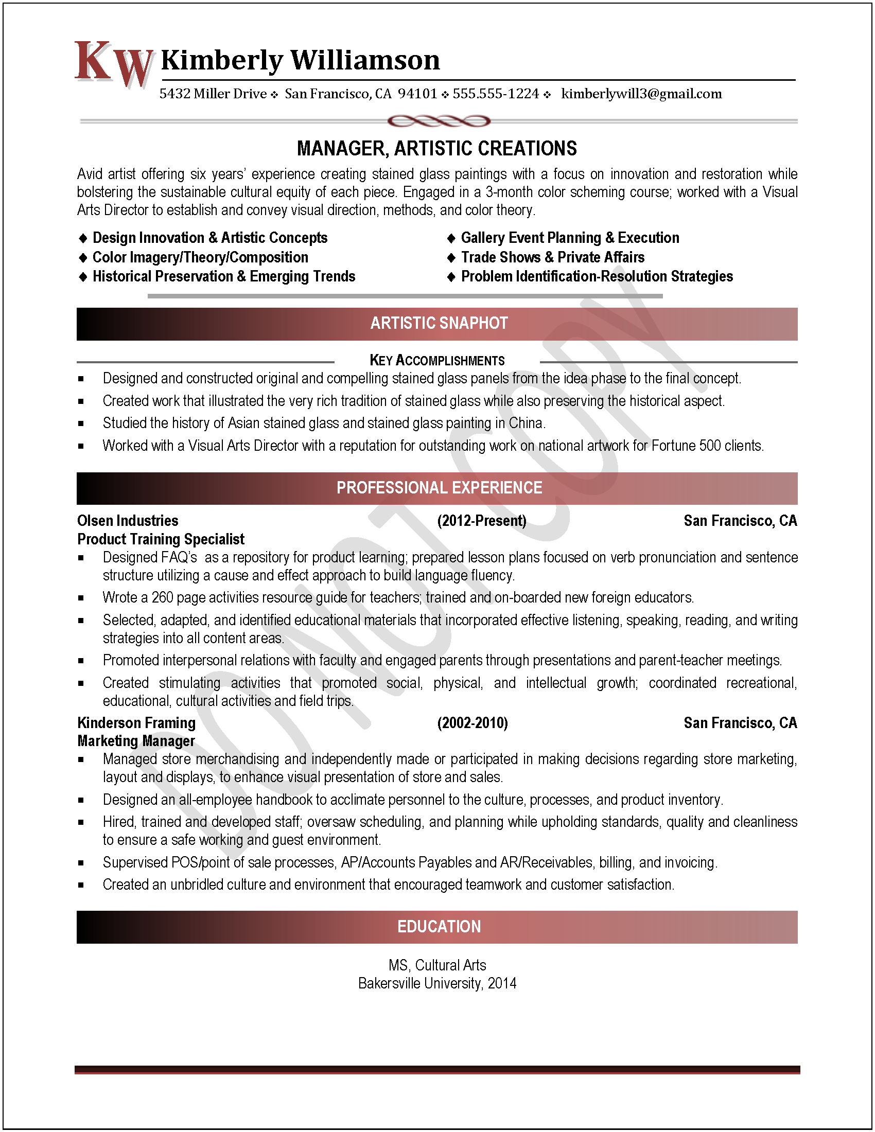 Professional Examples Of Resumes 21271 Exles Of Professional Resumes Search Results For