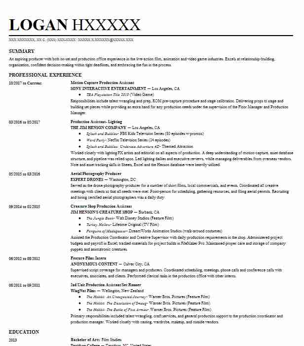 real department head resume example