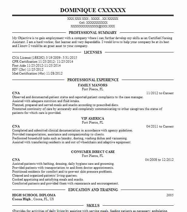 facs teacher resume examples
