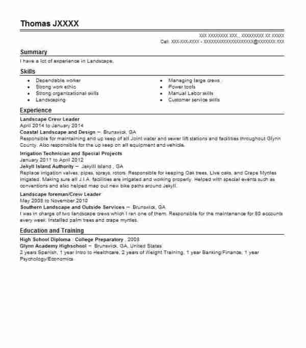 25 Landscaping Receptionist Resume Sample Pictures And Ideas On Pro