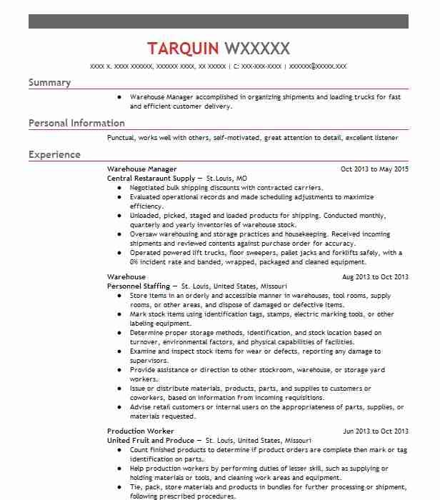 Are What Warehouse Resume Worker Skills Some