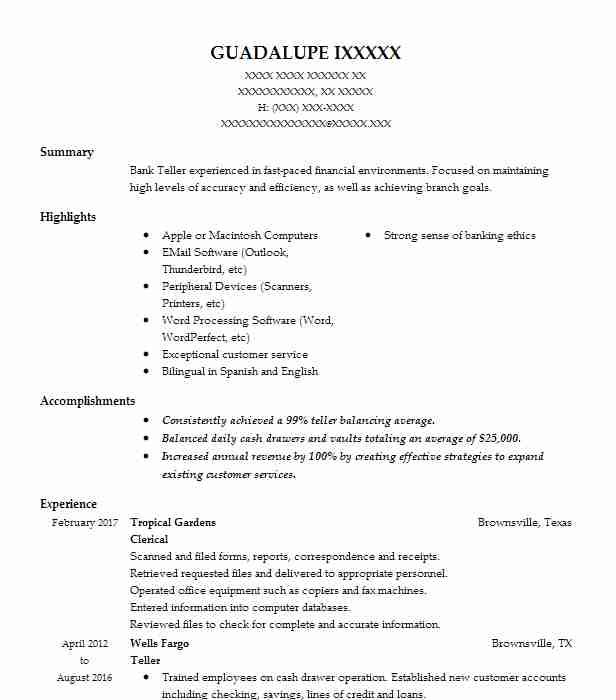 resume summary examples clerical