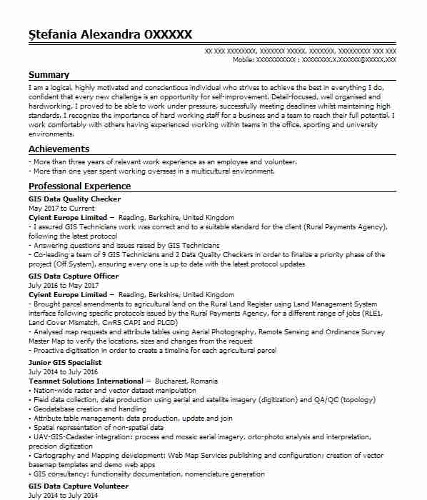 521 Architecture Cv Examples Amp Templates Livecareer