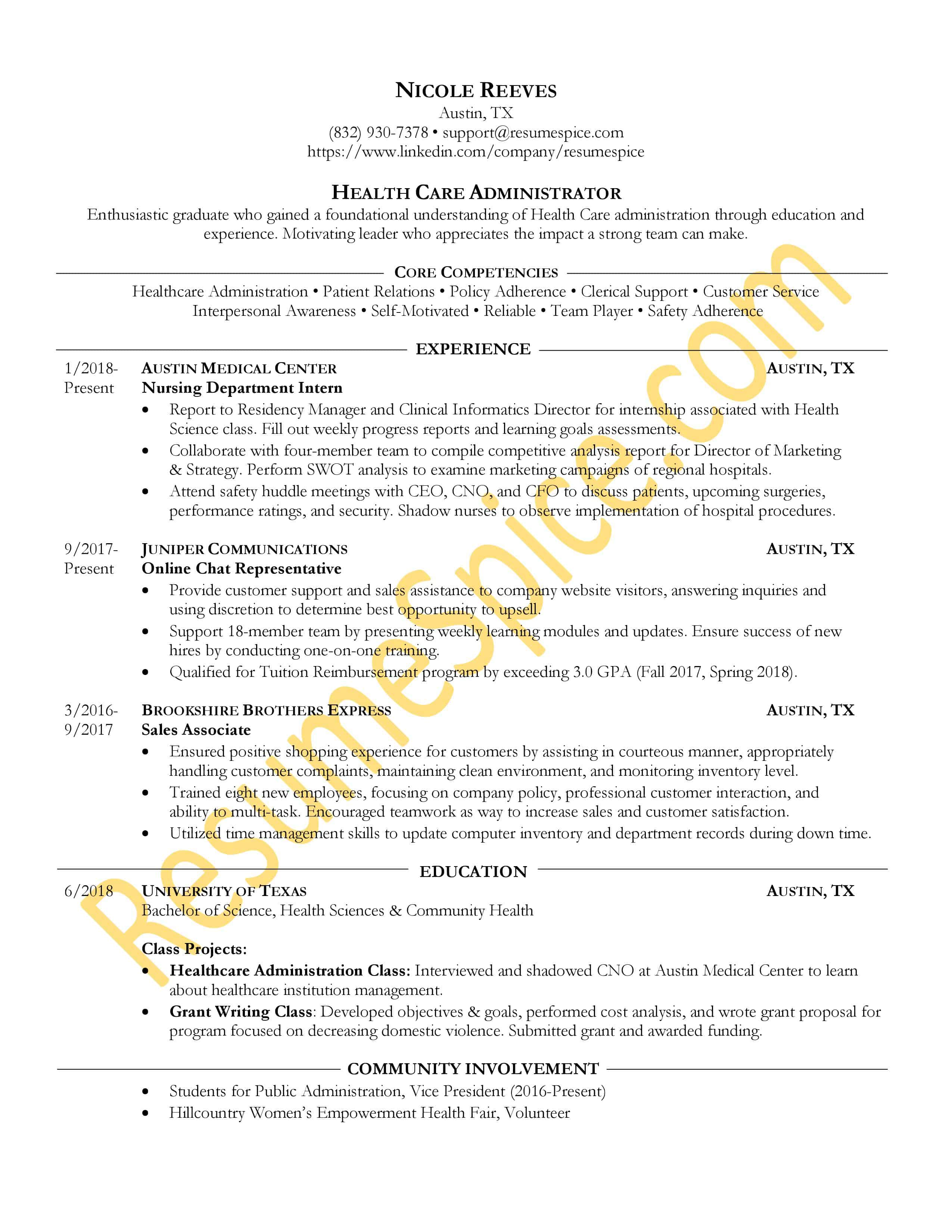 Example Of Resumes Best Resume Samples For Executives And Professionals Resumespice
