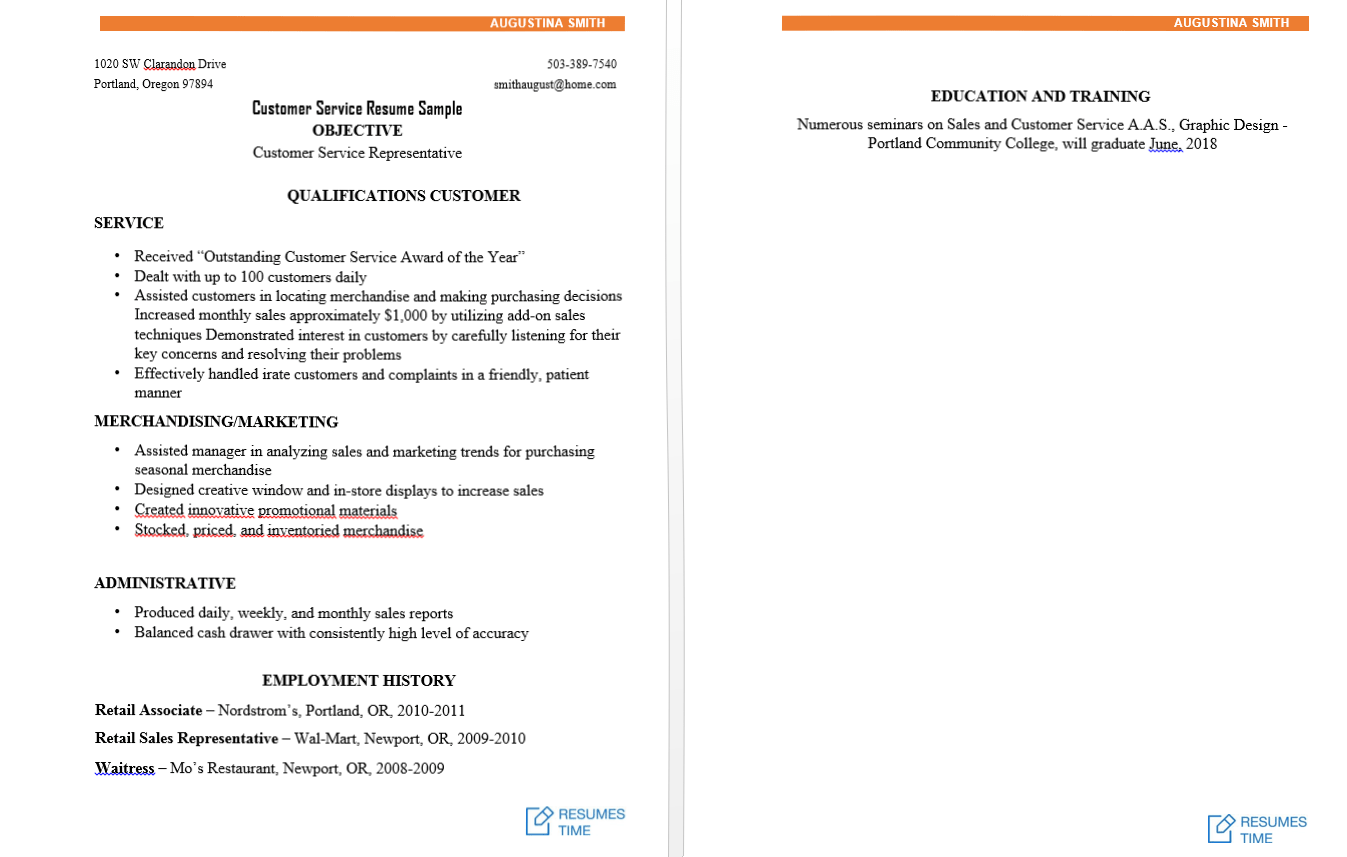 Foot Locker Sales Associate Cover Letter 100 Free Resume Samples Examples At Resumestime