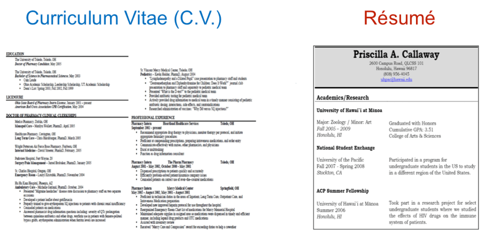 What's The Difference Between Resume And Cv  Resume