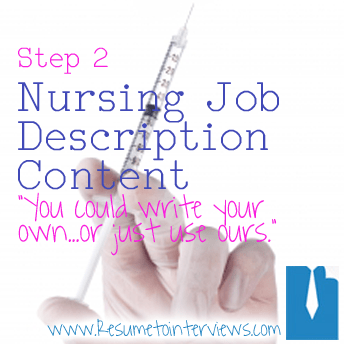Create An Effective Nurse Resume In Five Easy Steps (Resume Content ...