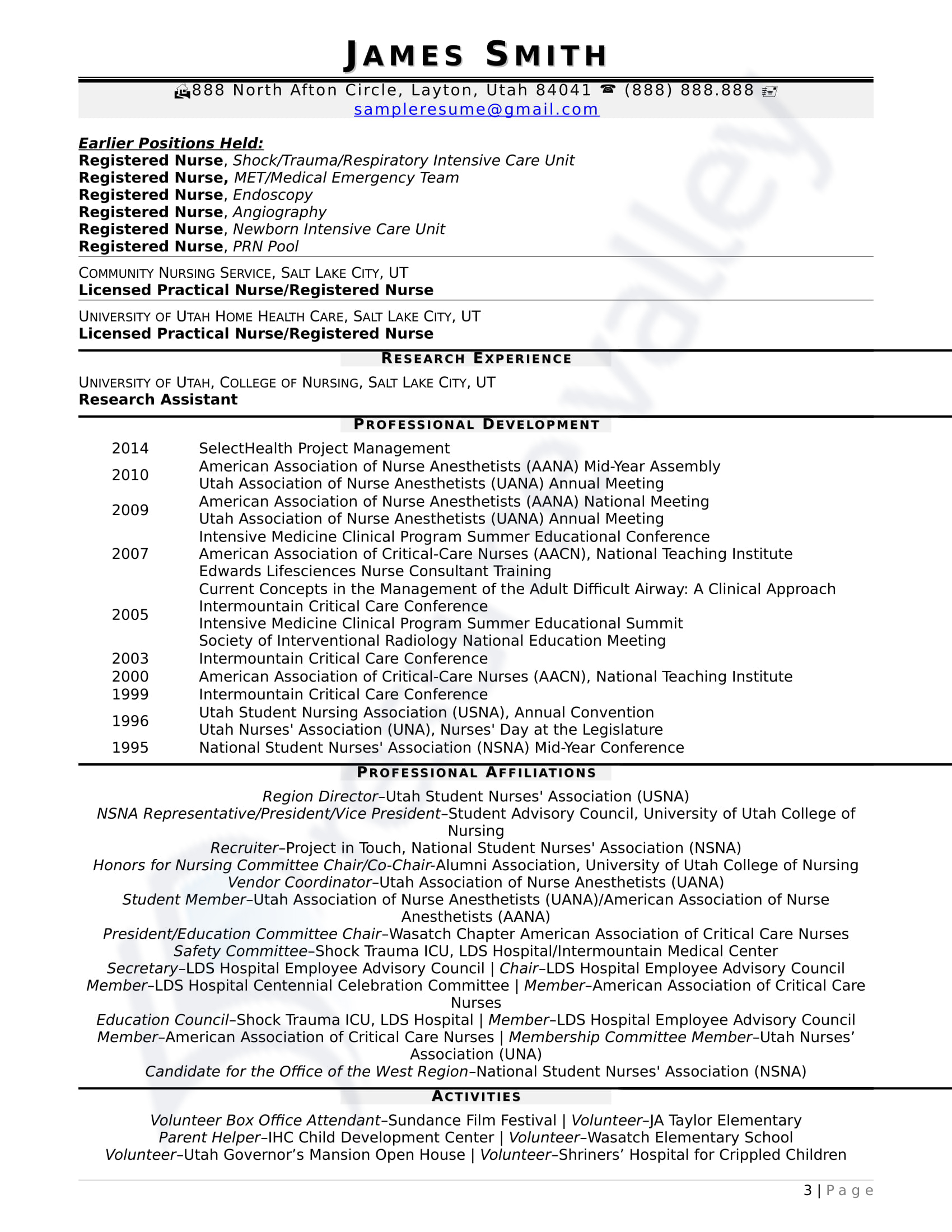 Clinical Nurse Specialist Cover Letter Sample Civilian And Federal Resumes Resume Valley