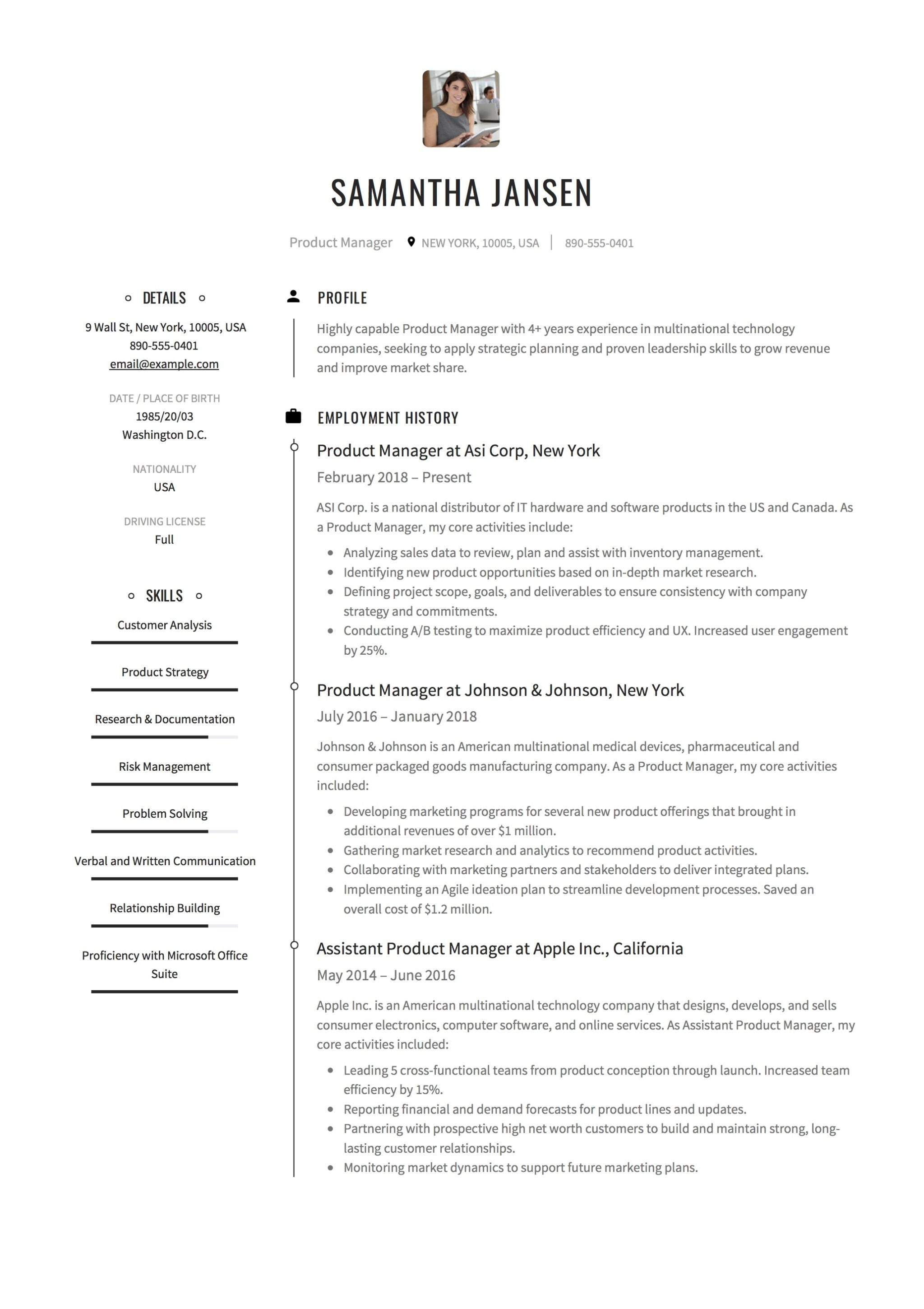 Strategy Resume Strategic Planning Resume Examples Nmdnconference