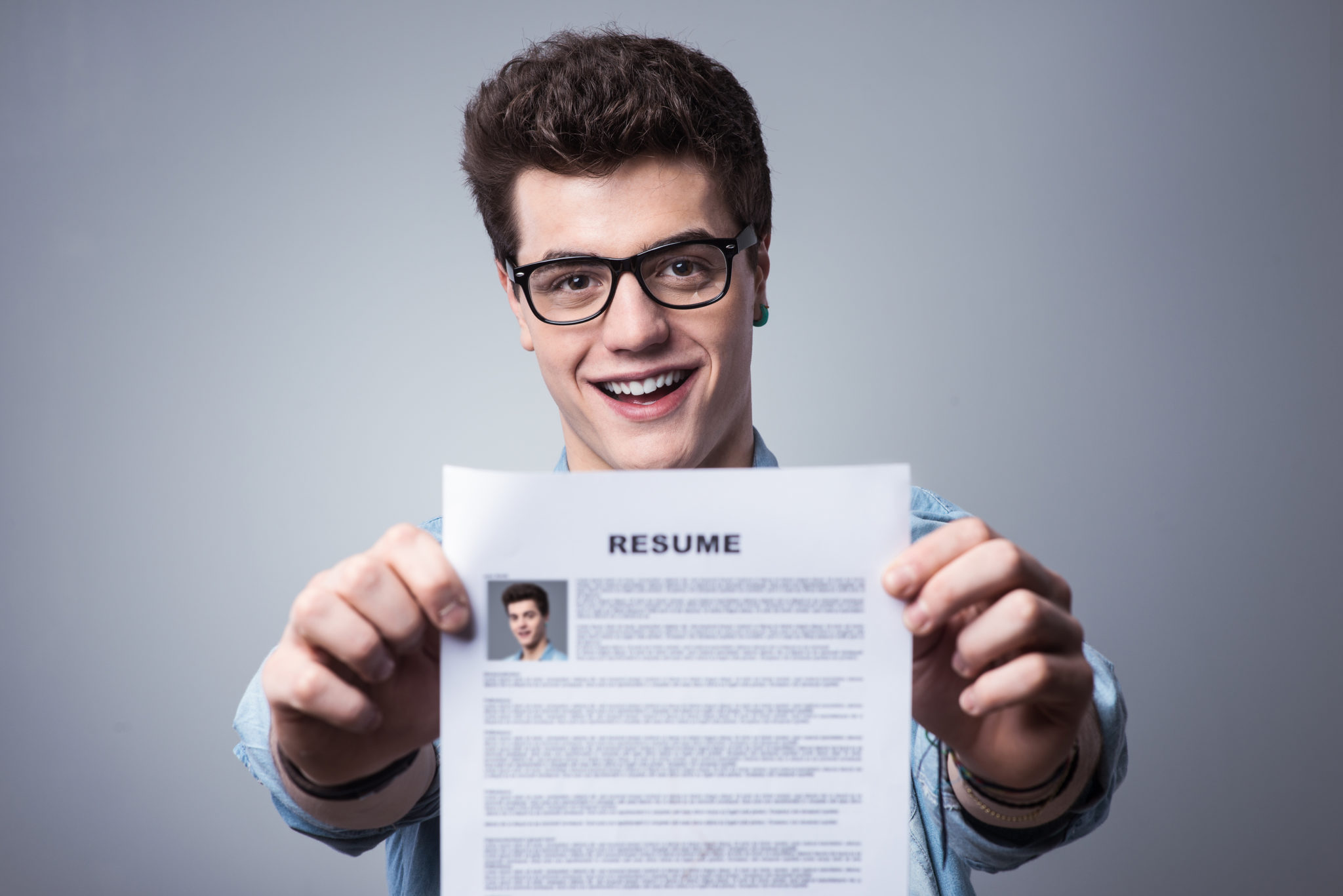 Bring Resume To Interview Writing A Resume Without College Degree No Problem