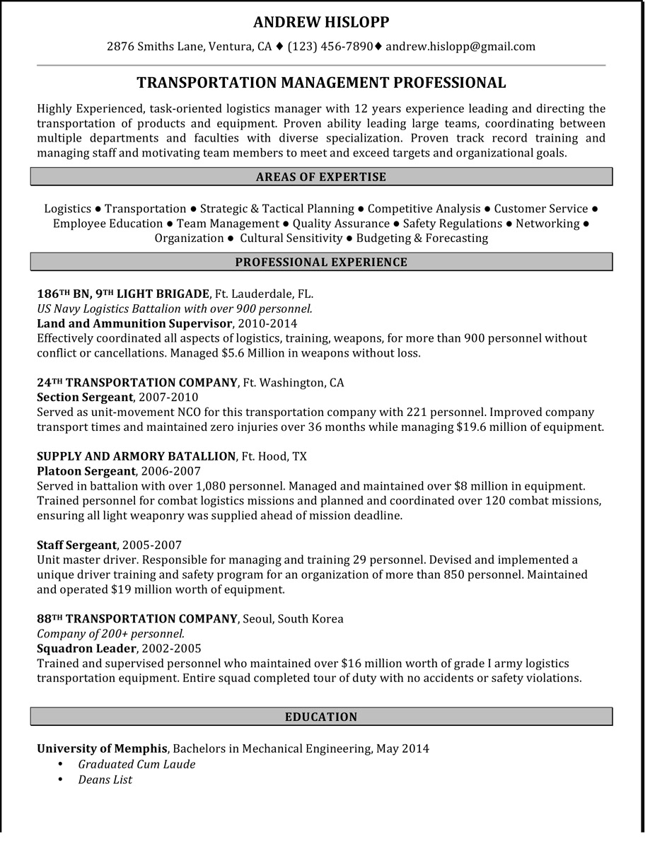 military to civilian cover letter examples of resumes cover ...