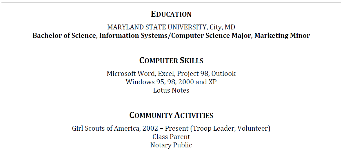 skills section of resume how to write a resume skills section
