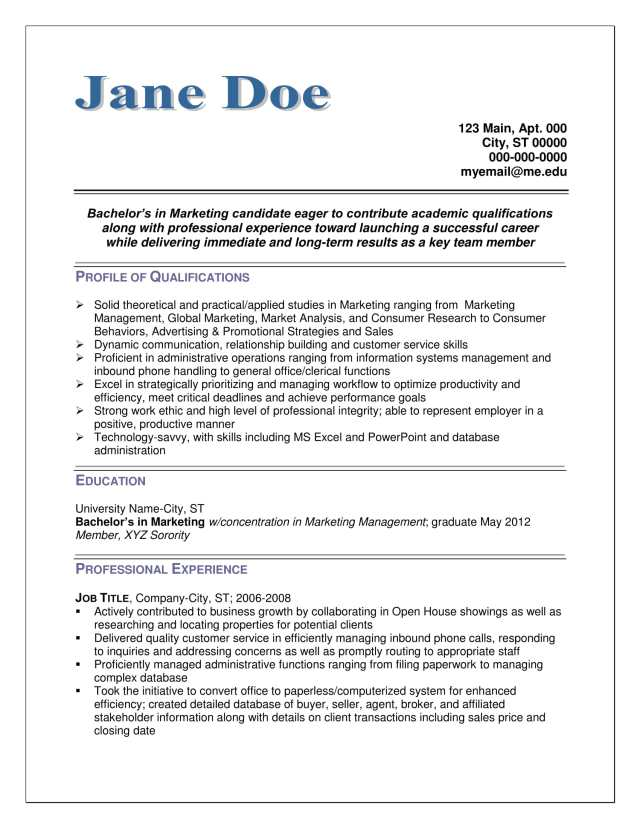 Professional Resume Writers - Service Provided by