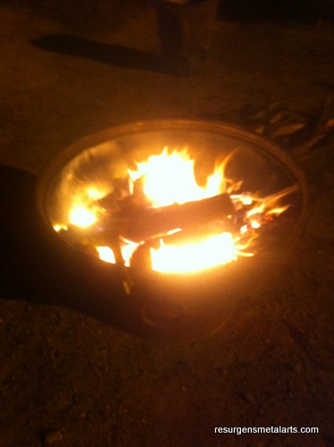 Carbon Steel Fire Pit
