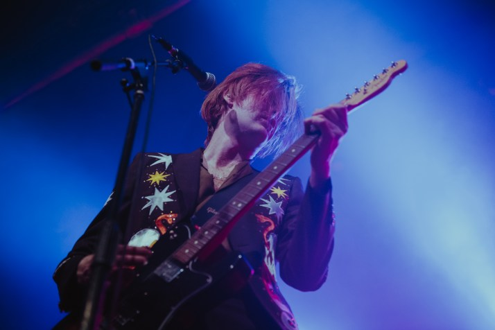 The Amazons performing at Saint Andrews Hall