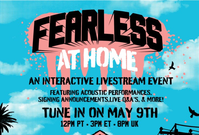 Fearless Records debuts Fearless At Home details