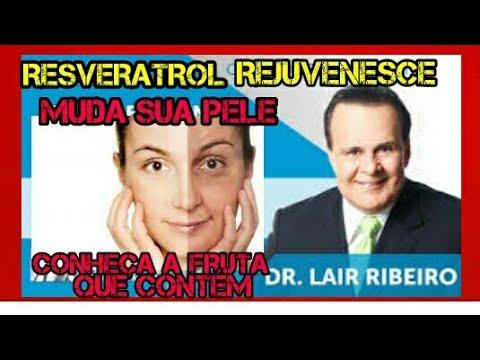 rejuvenescer e viver mais tempo ,fruta que contem RESVERATROL Dr.Lair Ribeiro