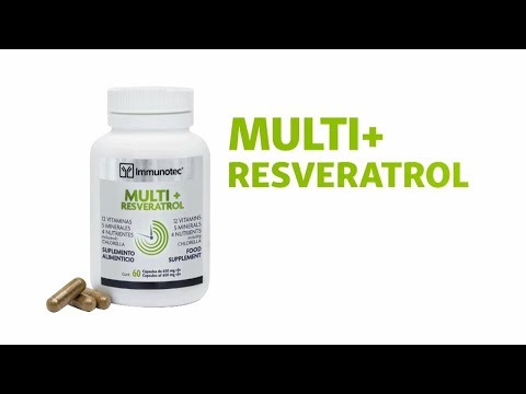 Multi+ Resveratrol nuevo producto en México