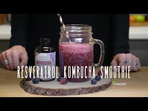 Resveratrol-Infused Kombucha Smoothie Recipe