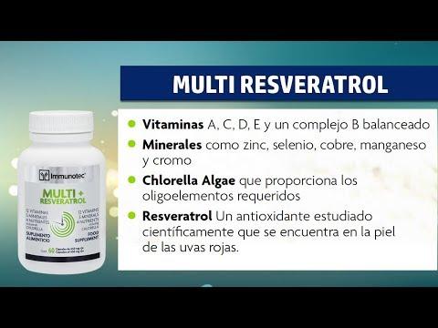 Multi Resveratrol (IMMUNOTEC)