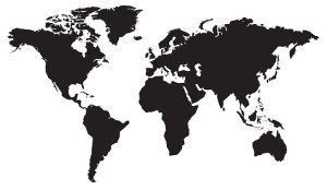 World,map